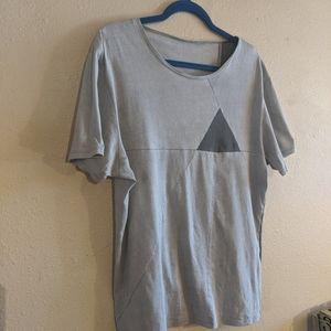 Heathen Triangle Grey T-Shirt